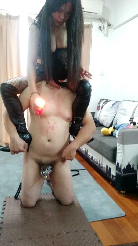 GFCN-098 Guangzhou Qiang  Severe Muscle - Wax pleasure.