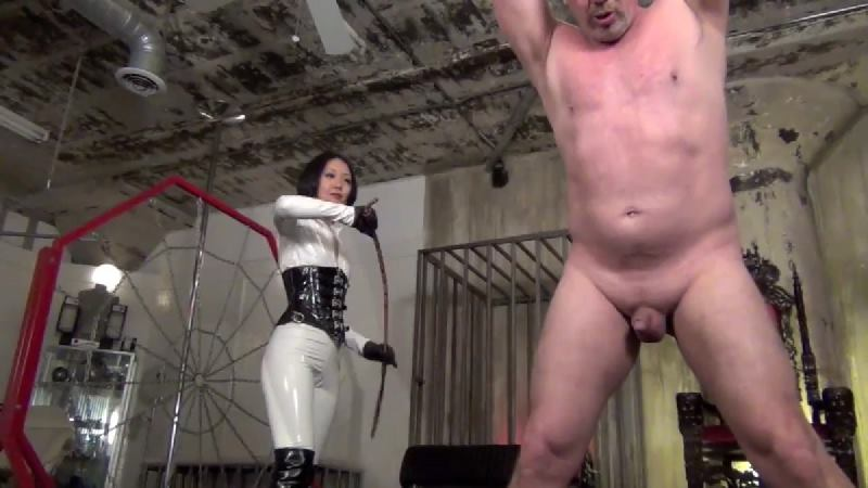 Cold Hearted Whipping. Starring Goddess.
