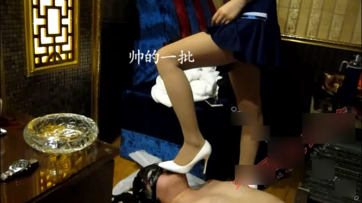 MVCN-336 Starting, Mei Ling, Qian Qian double stockings with deep throat, high heels playing with roots, abusive and humiliating