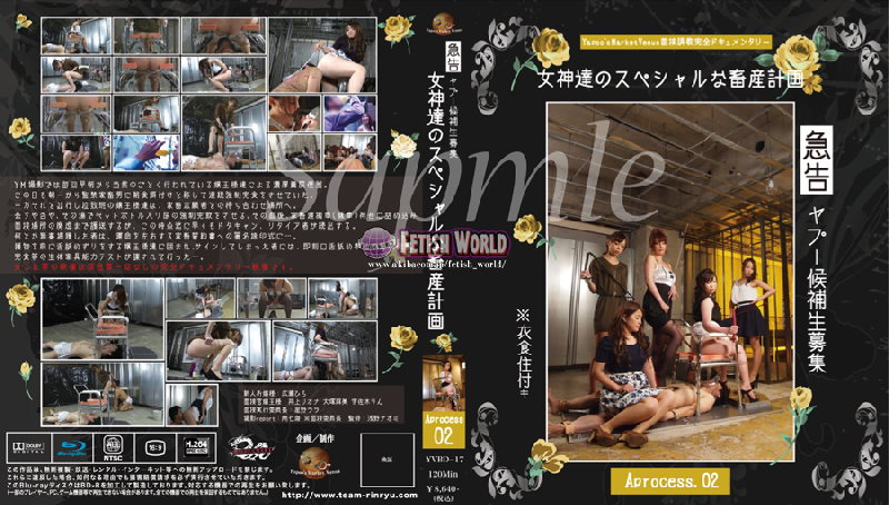 YVBD-17 Recruitment of Yapoo candidates!  With food, food and shelter-Goddess' special livestock farming Aprocess. 02 (Blu-ray)