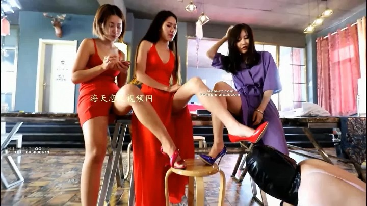 FTCN-380 humiliate female m at the party hall (cooperate with Ice Age)