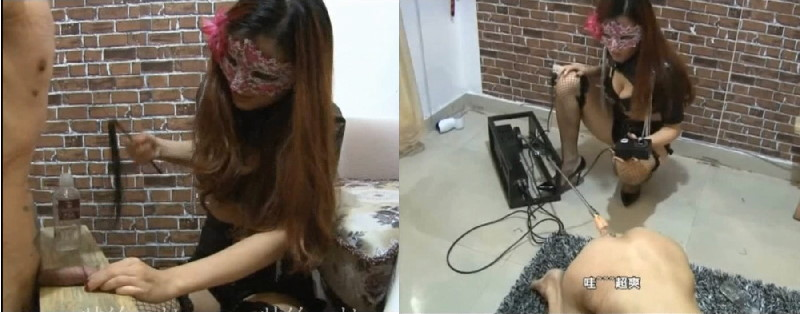 FMCN-411 Amauter Fucking machinese and Cock spanking