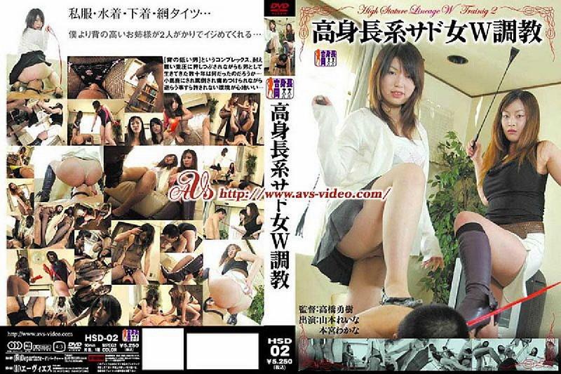 HSD-02 Tall sad woman W training Rena Yamamoto Wakana Honmiya