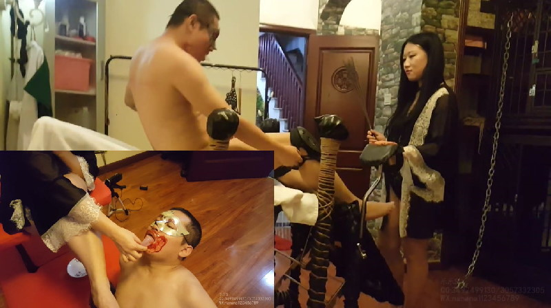 XSCN-437 Queen of Lele September Appointment-Red Gold Humiliates Domestic Slaves and Drinks All vol.2