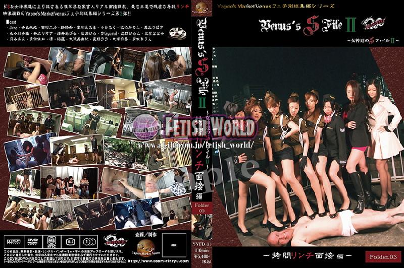 "YVFD-11 Venus`s SM File 2 ""Goddess's SM File 2"" -Torture Lynch Interview Folder. 03"