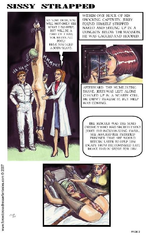 Sissy Straped Comics [ Eng ]